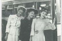Forties ('40's) Lane / Vintage Fashion Mostly Archival  / by Vintage Vertigo