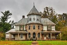 Beautiful Old Buildings, Ghost Towns and More That's Forgotten / There are some beautiful buildings that could still be occupied, but most are abandoned. It's amazing what is left behind, / by Faith Believing