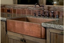 Sinks & Faucets / All types of kitchen sinks, including farmhouse / apron sinks, bar sinks, and modern stainless-steel sinks. Faucets, too! / by Kitchen Design Ideas