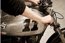 Motorcycles / Inspiration and Projects of the powered 2 wheel kind / by Suus Customs