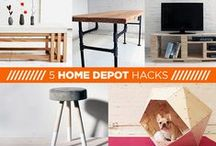 The Home Depot / Cool projects, ideas and more from our friends at Home Depot / by RYOBI POWER TOOLS