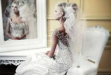 THE WEDDING DRESS - SAY YES! / Homage to amazing design and exquisite adornment in a wedding dress! / by Shelli Lowe-Matiscik
