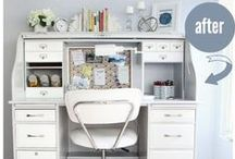 Home Office / Get inspired to create your work space at home! / by RYOBI POWER TOOLS