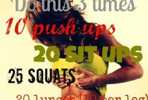Fit & Firm  / Work outs & Healthy cooking for a better life & you...  / by Annette Hernandez