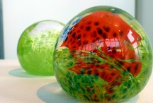 Make it Now - Glassblowing Classes / These short glassblowing classes offer a taste of working with hot molten glass. Working with a Schack staff member you will create a glass float, heart, paperweight, pumpkin (seasonal), or ornament (seasonal) / by Schack Art Center
