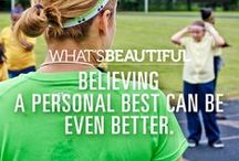 What's Beautiful #IWILL / For the Under Armour What's Beautiful 3.0 Campaign, re-defining the female athlete. What's beautiful to you? / by Angela @ Eat Spin Run Repeat