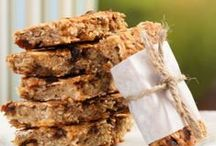 Healthy Granola Bar Recipes / Healthy granola bars, DIY snack bars and protein bars. / by Angela @ Eat Spin Run Repeat