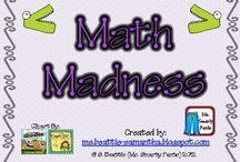 Math Mania! / by Tambra Voigt