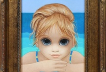 """Sad Eyes "" artist Margaret Keane..nee 1927....loved her waifs  when I was  growing up / by Eileen Robbescheuten"