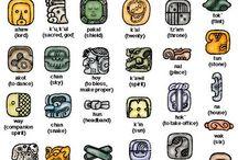 Symbols / Sings / Icons / Manifestaciones de la evolución del pensamiento humano a través de las diferentes culturas. / by jamilette leon
