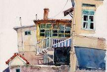 Art... Watercolor / by Victor Mario Plata