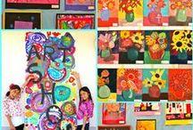 visual art:PreSchool-Elementary (K-5)- Middle (6-8)- High (9-12) / by SILVINA