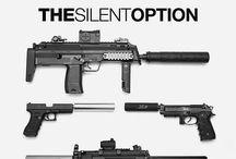 Tactical Equipments / Guns, weapons, etc. / by Jay-ar Simangan