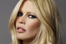 "Claudia Schiffer / Claudia Schiffer (born August 25, 1970) is a 5'11"" and 130 pound worldwide German supermodel and Icon with perfect measurements (34C-24-36). Claudia rose to popularity and became a worldwide  household name during the early 1990s as one of the world's most successful models. She was said to resemble Brigitte Bardot. She appeared on more than 700 magazine covers and continues to front global campaigns for luxury fashion and fragrance houses. Forbes estimated her net worth at about US$55 million. / by Doc's Life - 1"