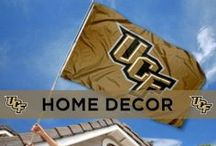 UCF Home Decor / Bring black and gold to your home with these cool UCF decorations. / by UCF Knights