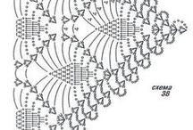 Häkelschriften - anleitungen / crochet diagramm / by Becci Oh