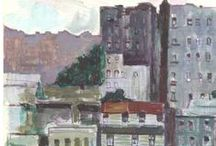 George Thompson Art Collection - Special Collections / A selection of paintings, drawings and sketches by Fordham University alum George E. Thompson (Fordham '56).   http://digital.library.fordham.edu/cdm/landingpage/collection/thompson  / by Fordham University Libraries