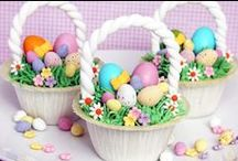 Easter Basket Cupcake Recipes by Peterboro Basket Company / Num Num / by Peterboro Basket Company