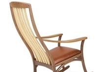 Jolly Rockers / From Pompanoosuc Mills, American Hardwood Furniture. Hand crafted in Vermont. / by Pompanoosuc Mills