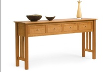 Solid Sofa Tables / From Pompanoosuc Mills, American Hardwood Furniture. Hand crafted in Vermont. / by Pompanoosuc Mills
