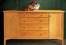 Enjoyable Buffets / From Pompanoosuc Mills, American Hardwood Furniture. Hand crafted in Vermont. / by Pompanoosuc Mills