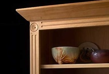 Crowning Buffet Tops / From Pompanoosuc Mills, American Hardwood Furniture. Hand crafted in Vermont. / by Pompanoosuc Mills