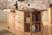 Crafty Kitchen / From Pompanoosuc Mills, American Hardwood Furniture. Hand crafted in Vermont. / by Pompanoosuc Mills