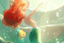 Disney Beauties / ...I'm a little heavy on the Little Mermaid if you can't tell :) / by Megan Pratt