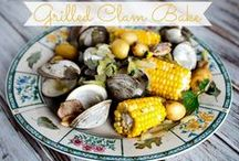 Scrumptious Seafood / Collection of Recipes for anything Seafood - shrimp, clams, oysters, crab, tuna, and Fish - also seasonings / by Carrie Fostor