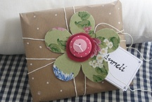 Gift Wrapping Ideas / by Kim Frazier