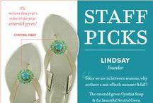 LP Staff Picks / by Lindsay Phillips Switchflops