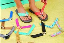Spring '14 Straps / From Nautical Navys to Toerrific Turks, our latest collection of interchangeable straps has arrived!!  / by Lindsay Phillips Switchflops