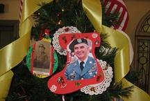 Hero Ornaments / A collection of hero ornaments and their unique expressions of love and patriotism.  / by Our Heroes' Tree Program