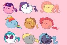 ♥MY LITTLE PONY♥ / These cute ponies are on the move!!! They are the most cutest things i have ever seen  ........and i have to tell you I'm a BRONY!!!!! / by Sydney Wilcox