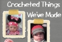 """Crocheted Things We've Made  / This is a group board to showcase things YOU have made. If you didn't make it, please don't pin it. It's a way to connect with other people who crochet. If you don't have a link to your picture, perhaps you'd like to link to the pattern you used to create the item.   All of the links to items made by Leighann, can be found on our """"Mums Crocheting Board""""   If you'd like to be invited to the board, please email, alishaluxford@hotmail.com OR comment on one of the pictures!  / by Alisha And Leighann"""