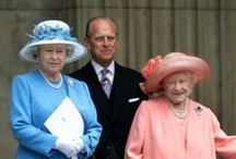 Queen Elizabeth and her Family.  / by Elisa