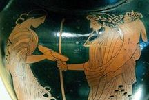 Hades and Persephone / As portrayed in classical times  / by Ivy