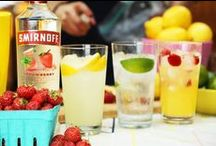 Summer Party Recipes with Smirnoff / Inspiration for your Memorial Day BBQ, 4th of July, summer parties, weddings and events with Smirnoff vodka. / by Smirnoff US