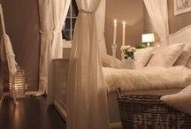 Master bed decor  / by GeorgeandVeronica Mercado