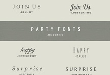 Fonts / My Collection of Fonts / by Kimberly Joyce