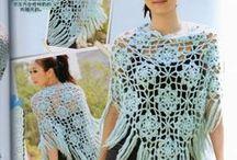 Crochet - Poncho♡Shawls♡ / by Ana Tomás
