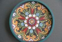 Folk Art Painting-Rosemaling / by Corkie L Gott