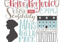 I <3 Jane Austen / by Sarah Margaret