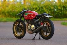 Custom Motorcycles / by Goodhal Garage