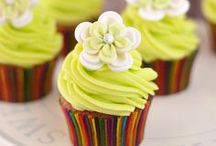 Cupcakes Galore / Here a cupcake, there a cupcake, every where a cupcake...Yum / by Shelley Graves