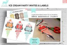 DIY. Party Stuff / Invites, cards, bunting, etc it's all here! / by Penny Parbhoo