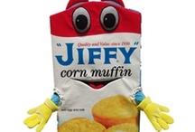 Jiffy - In A Jiffy With A Box Of Jiffy  / by Debra Poplaski