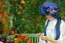 CHILDE HASSAN  Fredrerick / 1859-1935 - americano - Impresionista  / by Juan Jose Mazzoleni