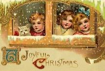 Vintage Christmas Cards / by ♛  Mieke Beurskens