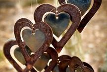 """Wind Chimes, Sun Catchers & Dream Catchers / Love the tinkly sounds and the reflecting sun. """"Tread softly, because you tread on my dreams.""""  / by Trena Heggs"""